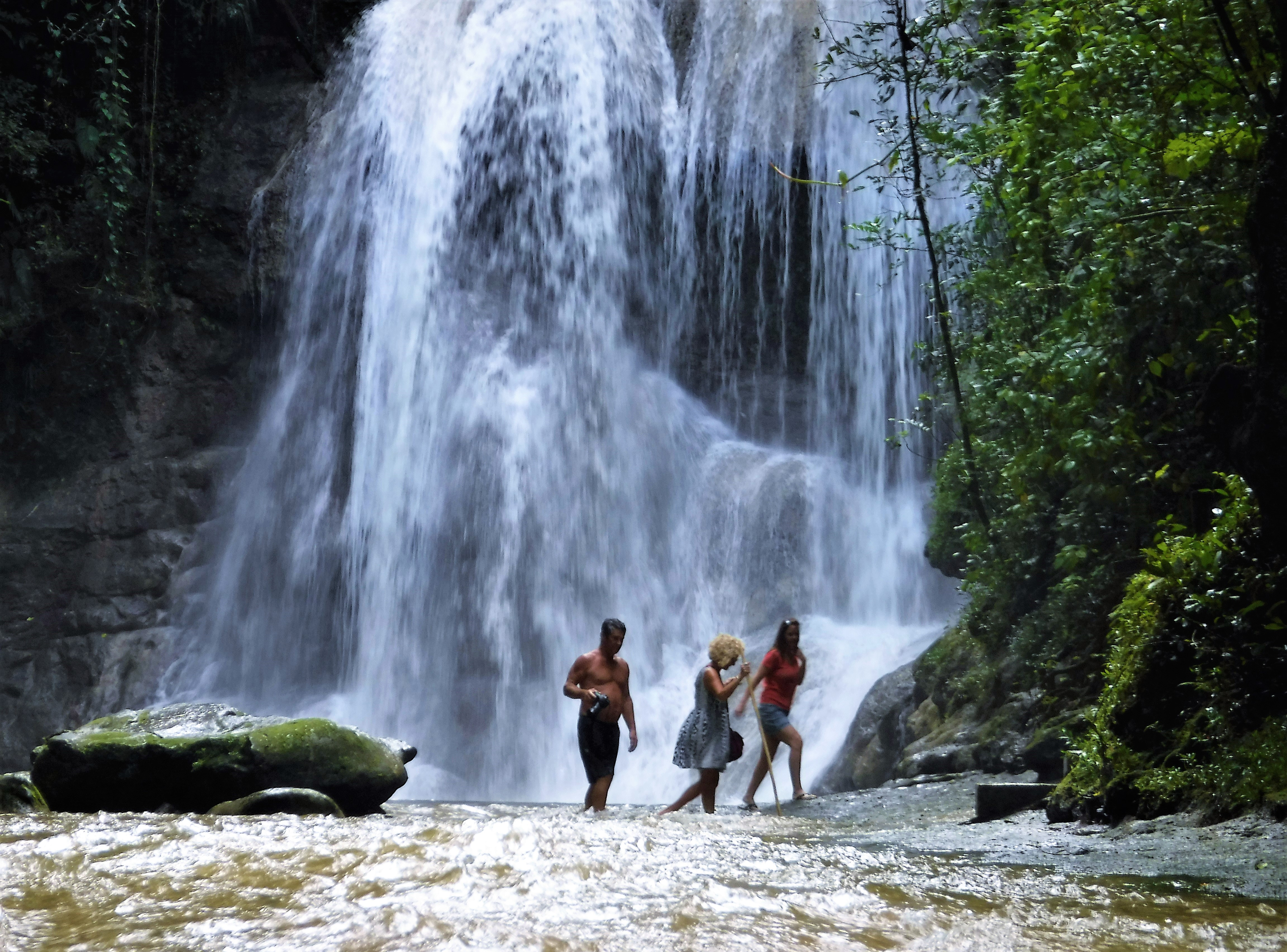 water falls Puerto Rico
